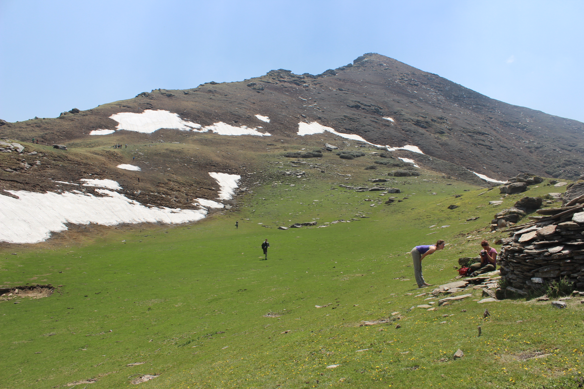 Pasture land Kedarkantha trek