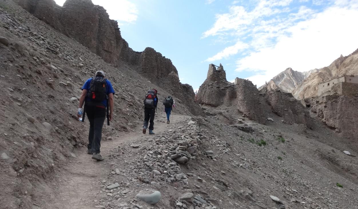 markha valley trekking leh India
