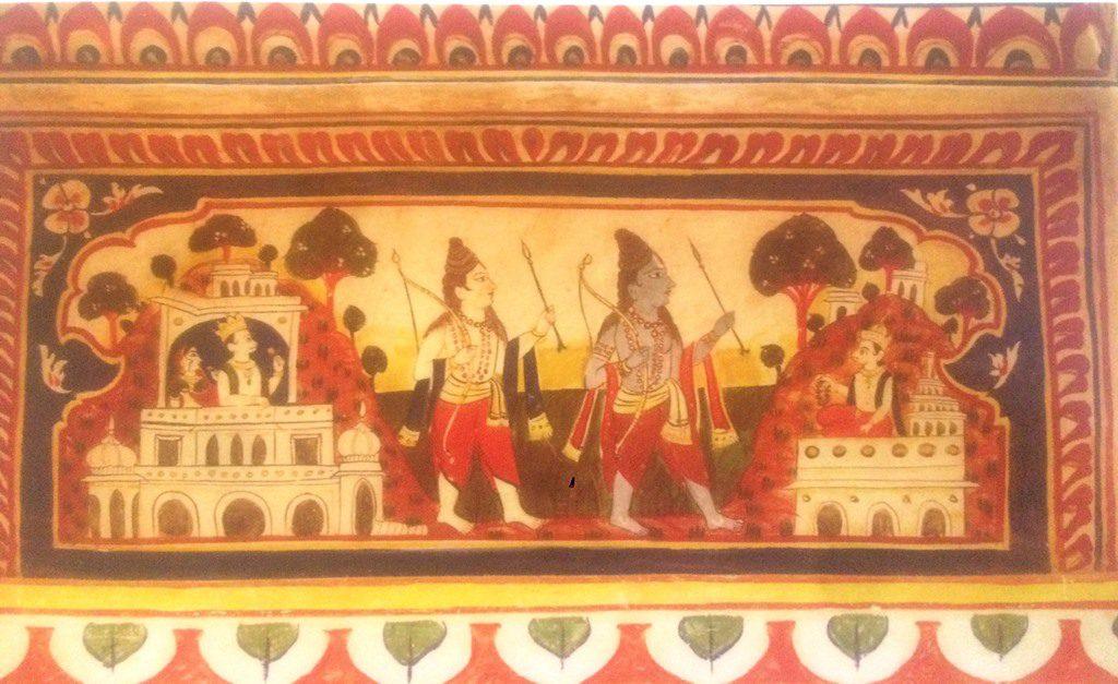 mural art rajasthan