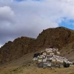 Spiti Valley Motorcycling Holidays old monastery at 12500 ft